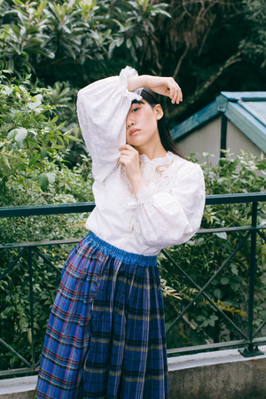 frill China blouse