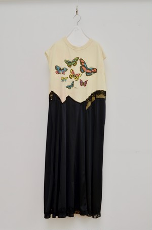 T SLIP ONEPIECE (BUTTERFLY)