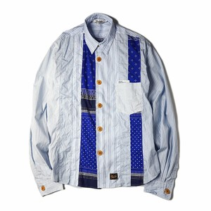 "UNRIVALED ""PATCHWORK SHIRT"""