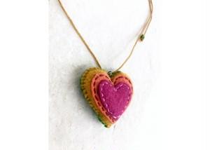ハートの鍵穴 ネックレス by Lili