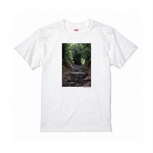 【寄付対象】【CHIKUGO百景】高良山登山道Tシャツ(送料無料)