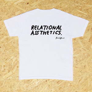 Relational Assthetics by Katsunobu Yaguchi | t-shirts