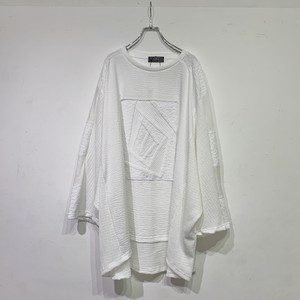 Wide-T-shirts PW(white)