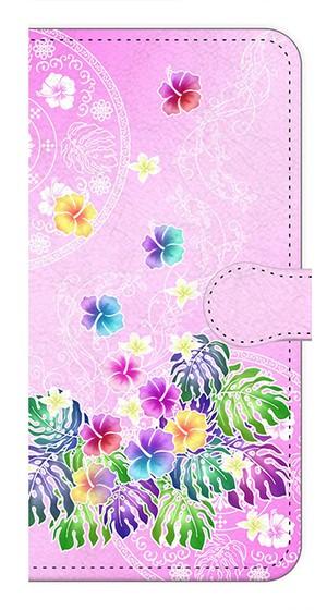 【iPhone7Plus】Sweet Pink Paradise スィート・ピンク・パラダイス 手帳型スマホケース