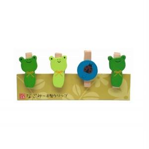 木製クリップ かわいいーかえる NO-NH367-1705