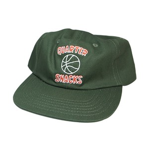 QUARTER SNACKS BALL IS LIFE CAP FOREST GREEN