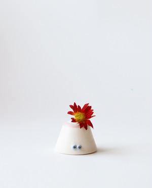 妖精のフラワーベース(白ピノ) 花瓶