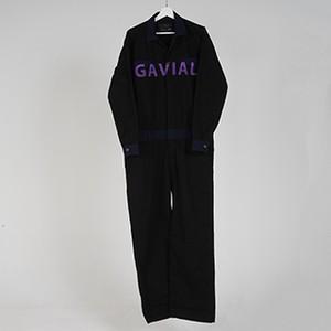 L/S JUMPSUITS (BLACK) / GAVIAL