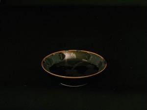 【井上祐希作】天目銀滴付立皿(小)