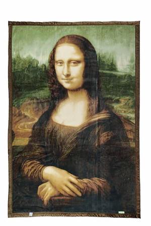 アートブランケット③ 「モナリザの微笑み」 レオナルド・ダ・ヴィンチ