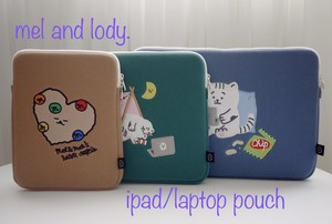 【mel and lody.】ipad/laptop  pouch 15inch