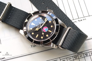 WMT WATCH SEA DIVER New Mt. FUJI EDITION with D.GY Nato Strap