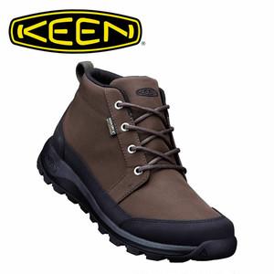 (キーン)KEEN MENS GLIESER CHUKKA NYLON WP DARK OLIVE/BLACK グリーザー チャッカ ナイロン 防水ブーツ