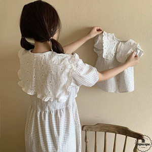 «予約»«mom» Aosta linen one piece 2colors リネン ワンピース ママサイズ