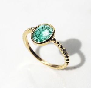 Emerald KIRIKO Special Ring