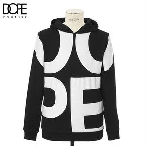 "DOPE (ドープ) ""PULLOVER HOODED SWEAT""[BLACK]"