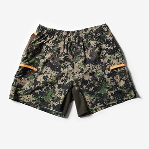 MMA Women's 7pkt Run Shorts (Digital Camo)