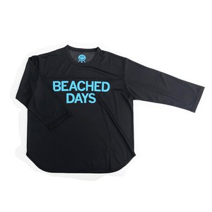 BEACHED DAYS Mesh QS Tee