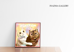猫ちゃん勝手にお絵描き 455mm
