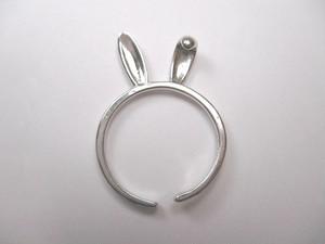 うさ耳の指輪 フリーサイズ