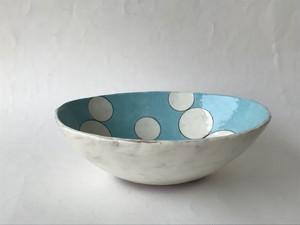 武田 武人(たけだ たけひと) 色絵楕円鉢