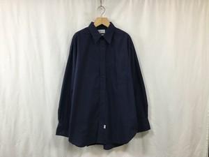 """在庫有りMarvine Pontiak shirt makers""""3Button Regular Collar SH Navy"""""""
