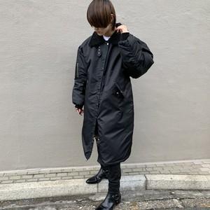 【即納】韓国ファッション ロングボア襟BIG MA-1