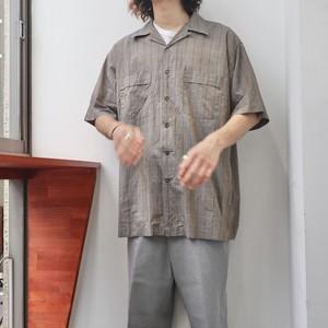 """GILLIO PREMIER"" iridescent open collar shirts"