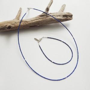 N_007 Lapis necklace/B_007 Lapis bracelet