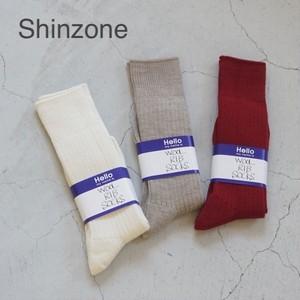 THE SHINZONE/シンゾーン・ウールリブソックス