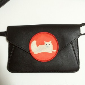 ○ ねこFAKE LETHER BAG ○