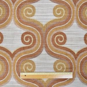 織柄カーテン(横228×縦234)