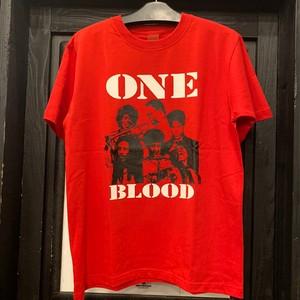 NINE RULAZ LINE :ONE BLOOD TEE