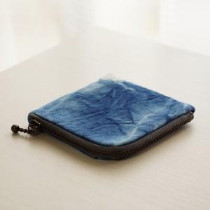藍染コインケース