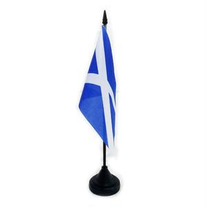 テーブルフラッグ【スコットランド】Worldwide Flags 90024-SC