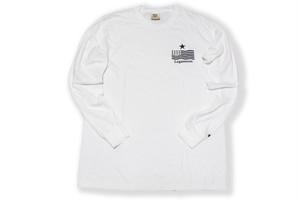 "即日発送【""USA"" vintage long sleeve】/ white"