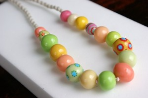 Handmade beads Necklace