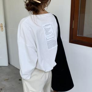 【送料無料】バックプリントTシャツ♡