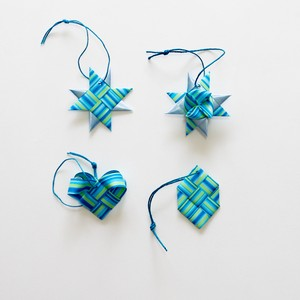 ornament 4pcs set(BL)(outlet)