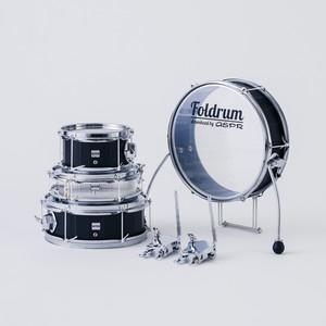 【スネア無し】Foldrum Pop 超小口径セット (クローム)