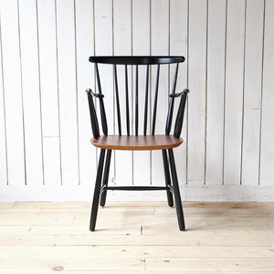 Arm Chair(Black × Natural)