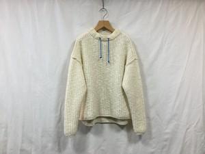 """L'ANIT""""Moc Neck knit White"""""""