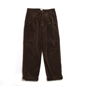 CORDUROY 2TAC PANTS(BROWN)