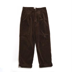 CORDUROY 2TAC PANTS(BROWN)