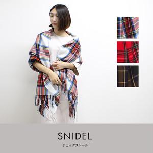snidel | チェックストール  SWGG184669