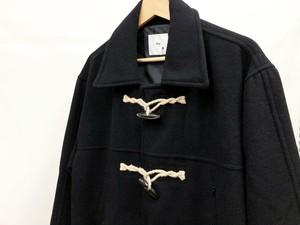 【thinq】Duffle Collar Coat (black)