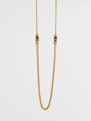 Bamboo Design Necklace / Gucci