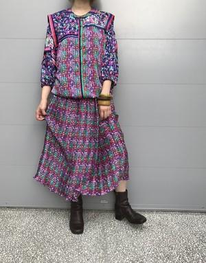 Diane freis animal print Dress