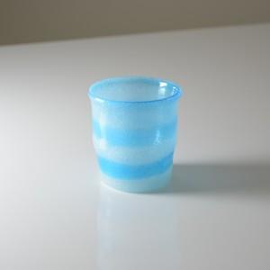 泡マーブルロックグラス (全3色)