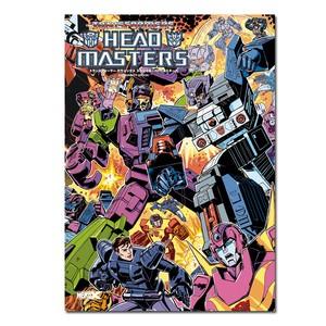 【特製ステッカー3枚付】「トランスフォーマー クラシックス スペシャル:ヘッドマスターズ」TRANSFORMERS CLASSICS SPECIAL:HEADMASTERS